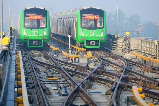 Lãnh đạo Cục 6 đường sắt Trung Quốc đã có mặt tại dự án Cát Linh - Hà Đông - Ảnh 1.