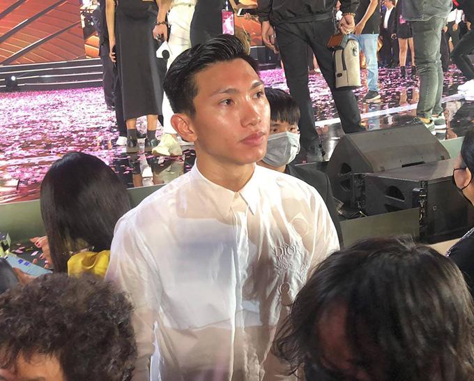 Đoàn Văn Hậu rơi lệ vì Doãn Hải My chỉ lọt tốp 10 Hoa hậu Việt Nam 2020 - Ảnh 2.