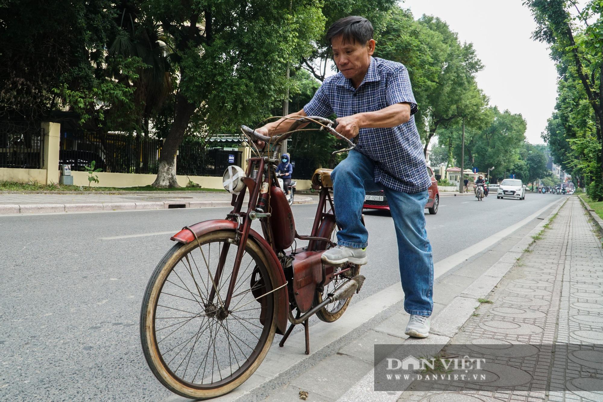 Xe máy Georges Catte gần 70 tuổi vẫn chạy bon bon trên đường - Ảnh 3.
