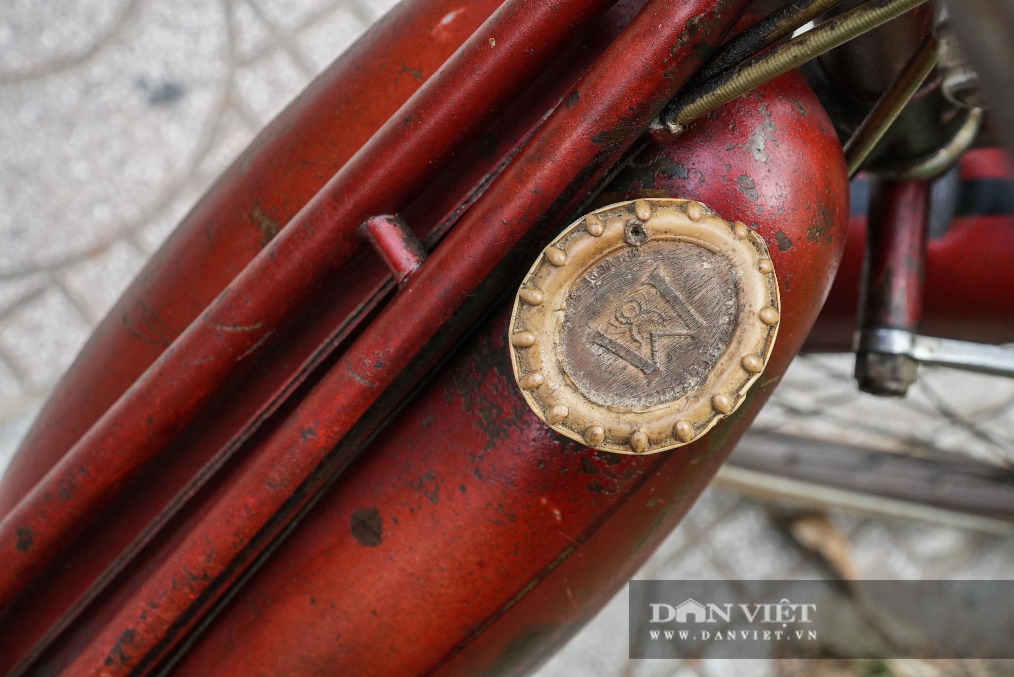 Xe máy Georges Catte gần 70 tuổi vẫn chạy bon bon trên đường - Ảnh 8.