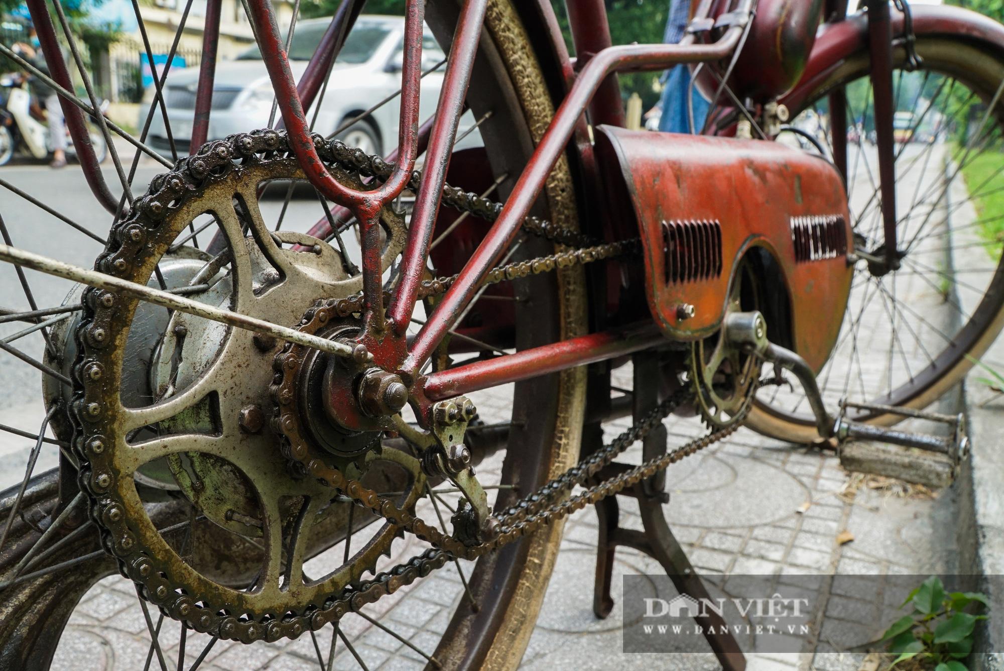 Xe máy Georges Catte gần 70 tuổi vẫn chạy bon bon trên đường - Ảnh 12.