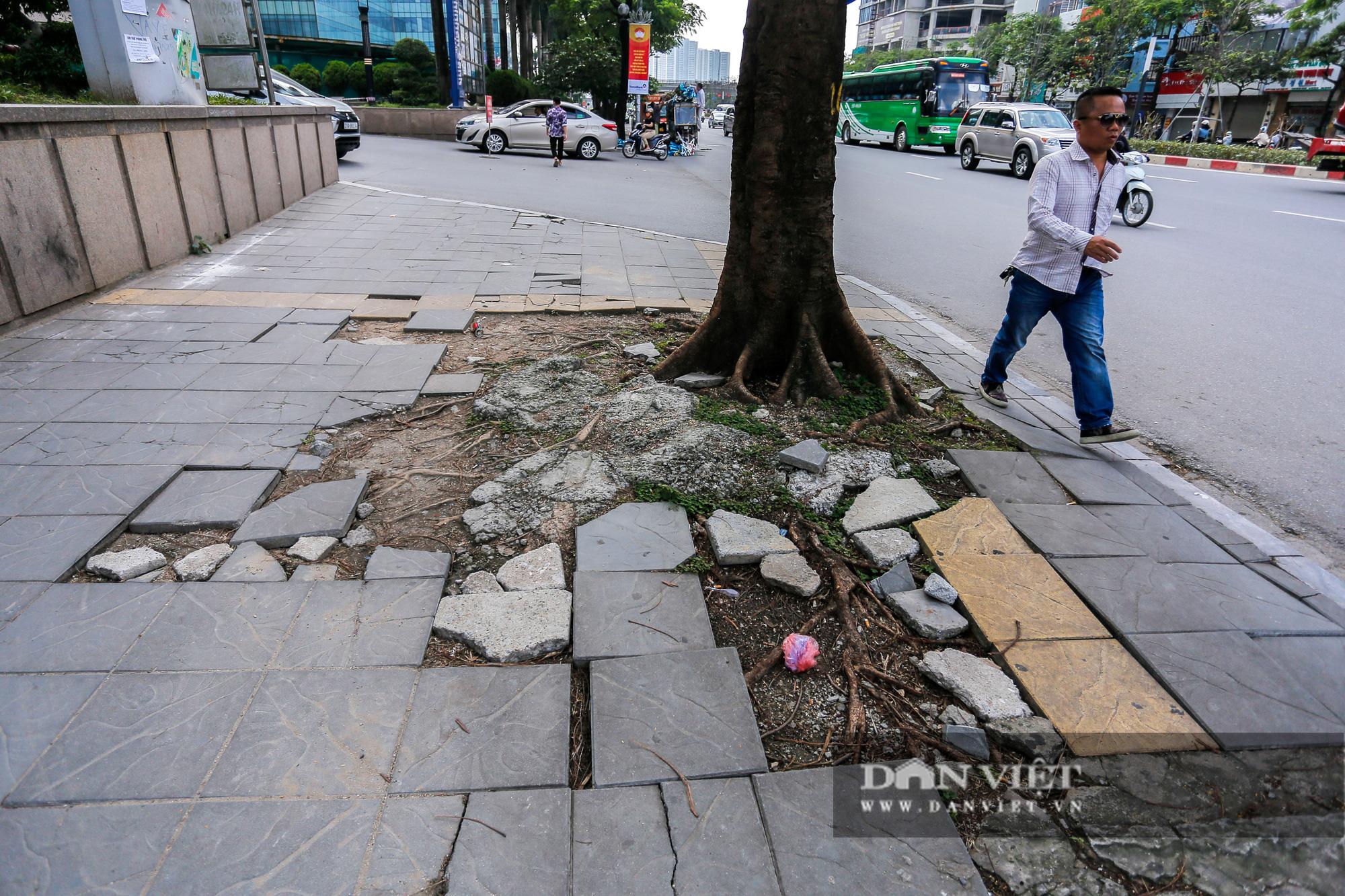 """Hà Nội: Đá lát vỉa hè độ bền 70 năm """"vỡ không thương tiếc"""" chỉ sau 3 năm - Ảnh 5."""