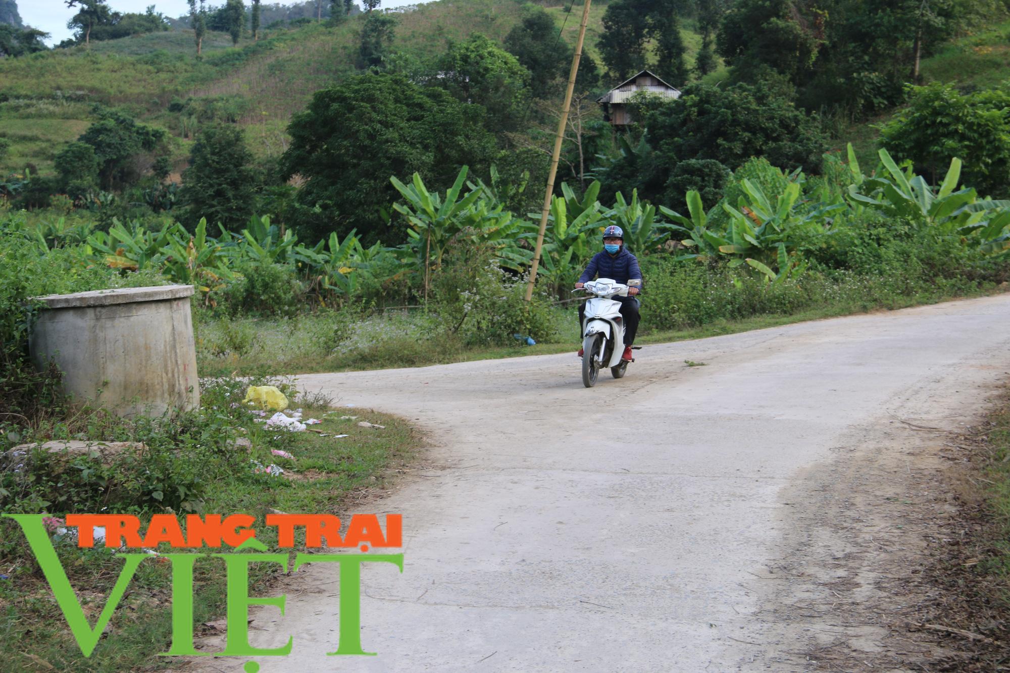 Người dân Quỳnh Nhai góp hàng nghìn ngày công, hiến đất xây dựng nông thôn mới - Ảnh 4.