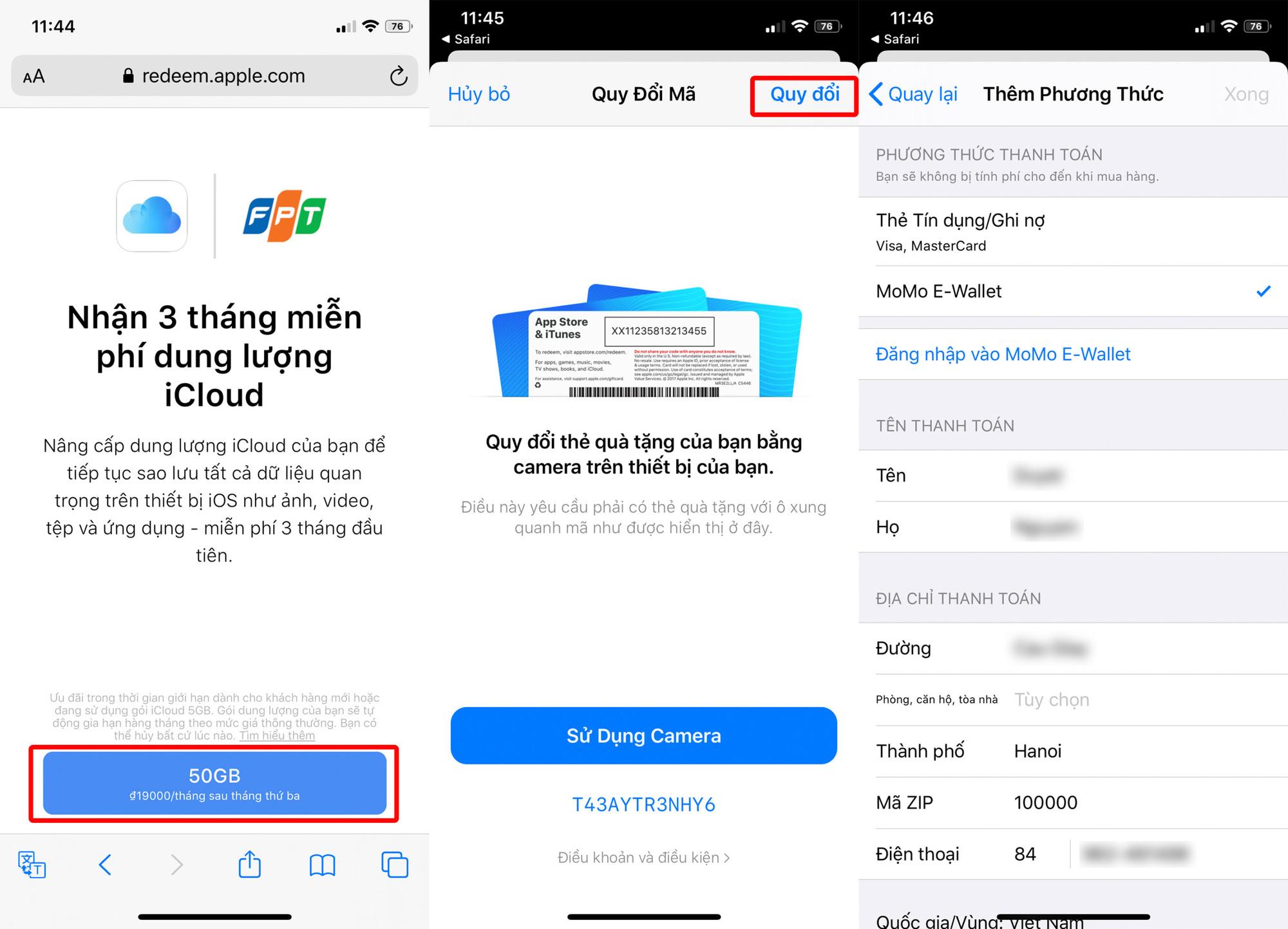 Hướng dẫn cách nhận 50GB dung lượng iCloud miễn phí - Ảnh 3.