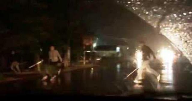 NÓNG: Nổ súng kinh hoàng tại Thái Bình  - Ảnh 2.