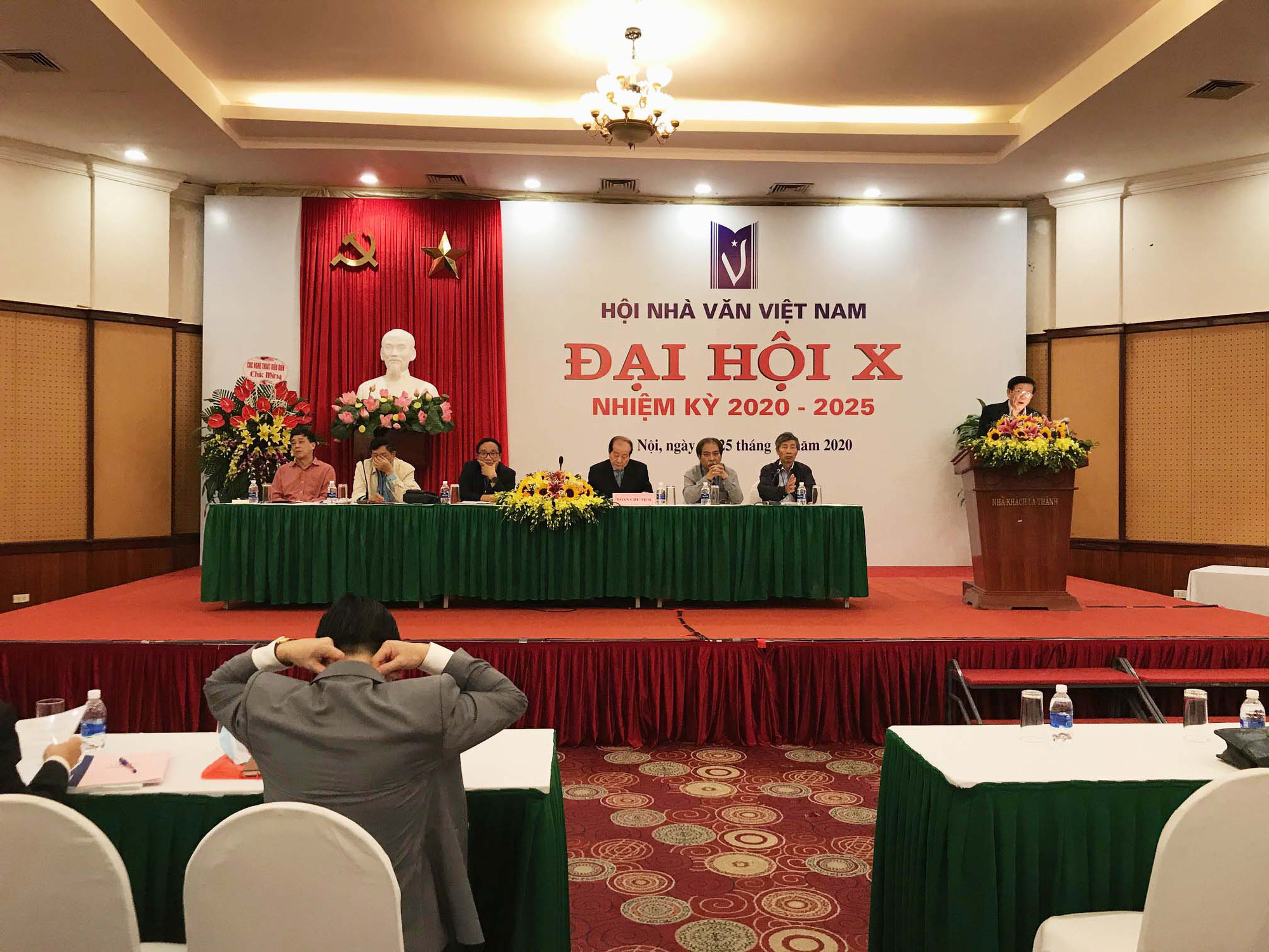 Đại hội Hội nhà văn Việt Nam khoá X: Kỳ vọng nhiều tác phẩm về nông thôn và chống tham nhũng.  - Ảnh 1.