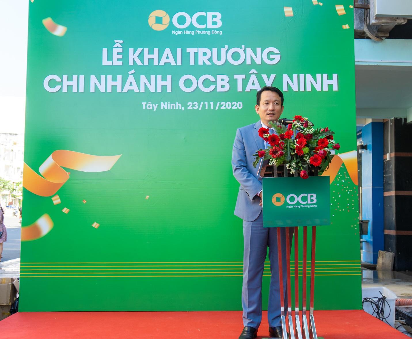 OCB khai trương chi nhánh đầu tiên tại tỉnh Tây Ninh - Ảnh 1.