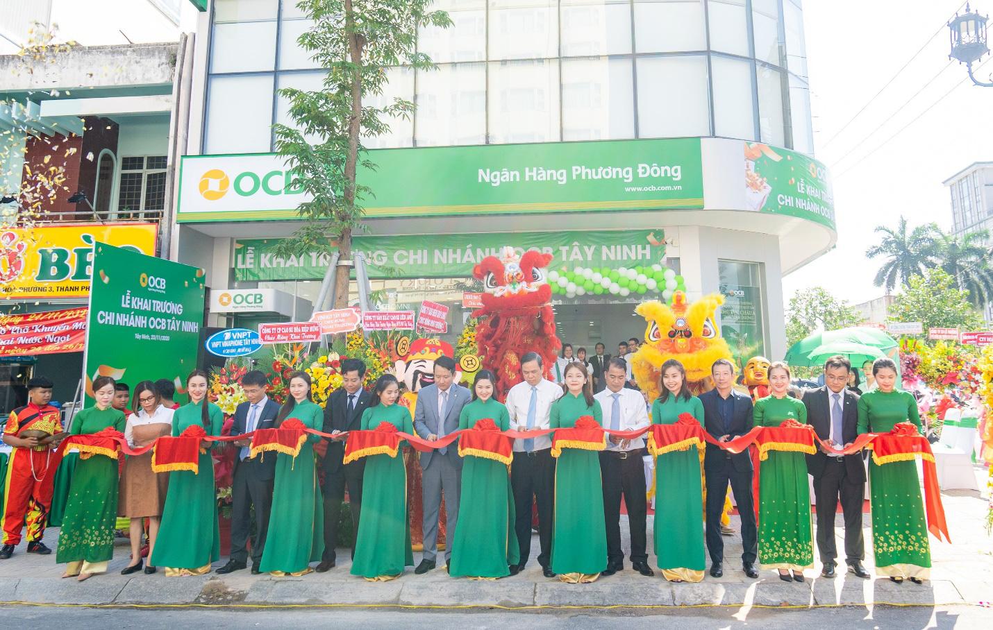 OCB khai trương chi nhánh đầu tiên tại tỉnh Tây Ninh - Ảnh 2.