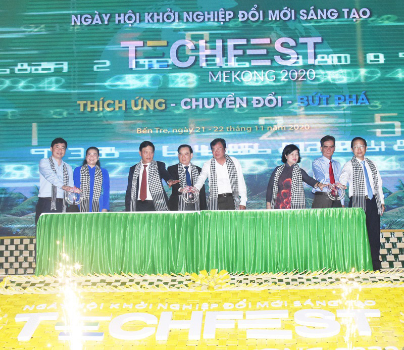 Techfest Mekong 2020 tại Bến Tre: Thúc đẩy liên kết khởi nghiệp giữa ĐBSCL và cả nước - Ảnh 3.