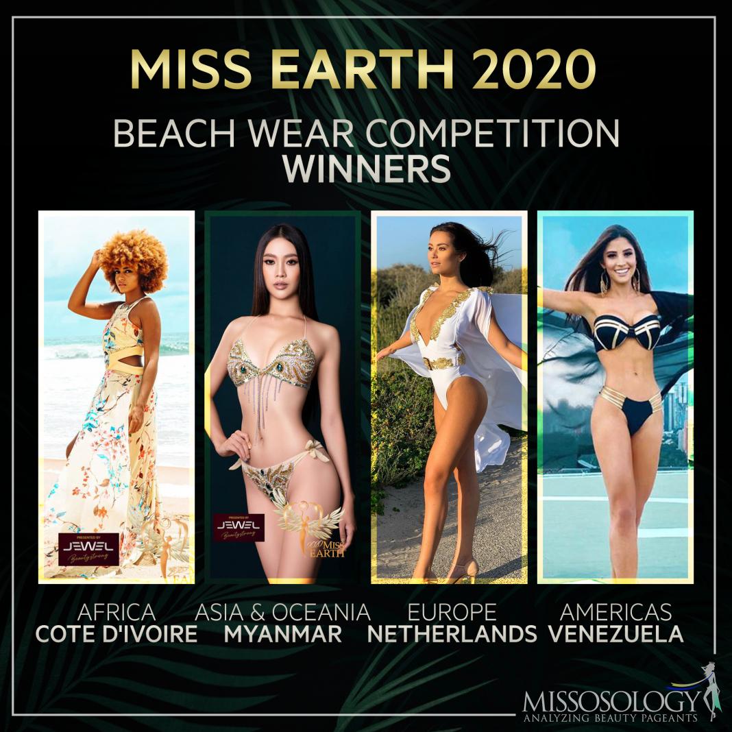 """Nhan sắc 4 mỹ nhân gây """"sốt"""" vì mặc bikini quyến rũ """"đốt mắt"""" tại Hoa hậu Trái Đất 2020 - Ảnh 1."""