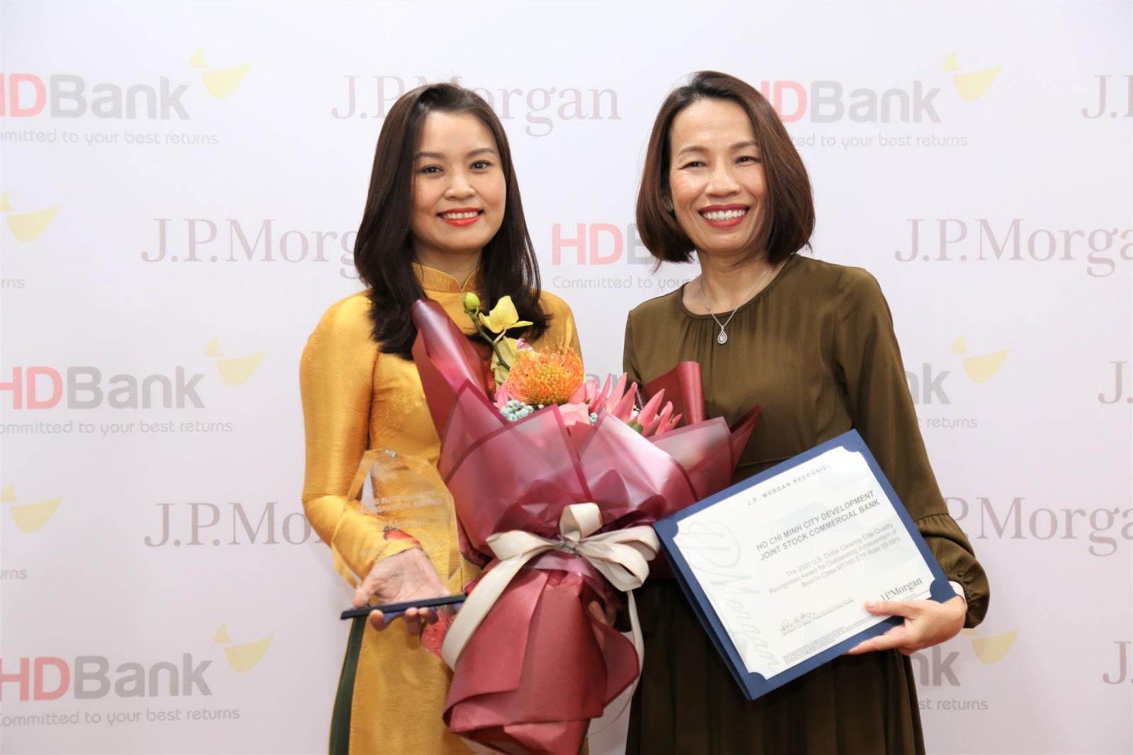 HDBank nhận Giải thưởng Chất lượng Thanh toán quốc tế xuất sắc 3 năm liên tiếp - Ảnh 2.