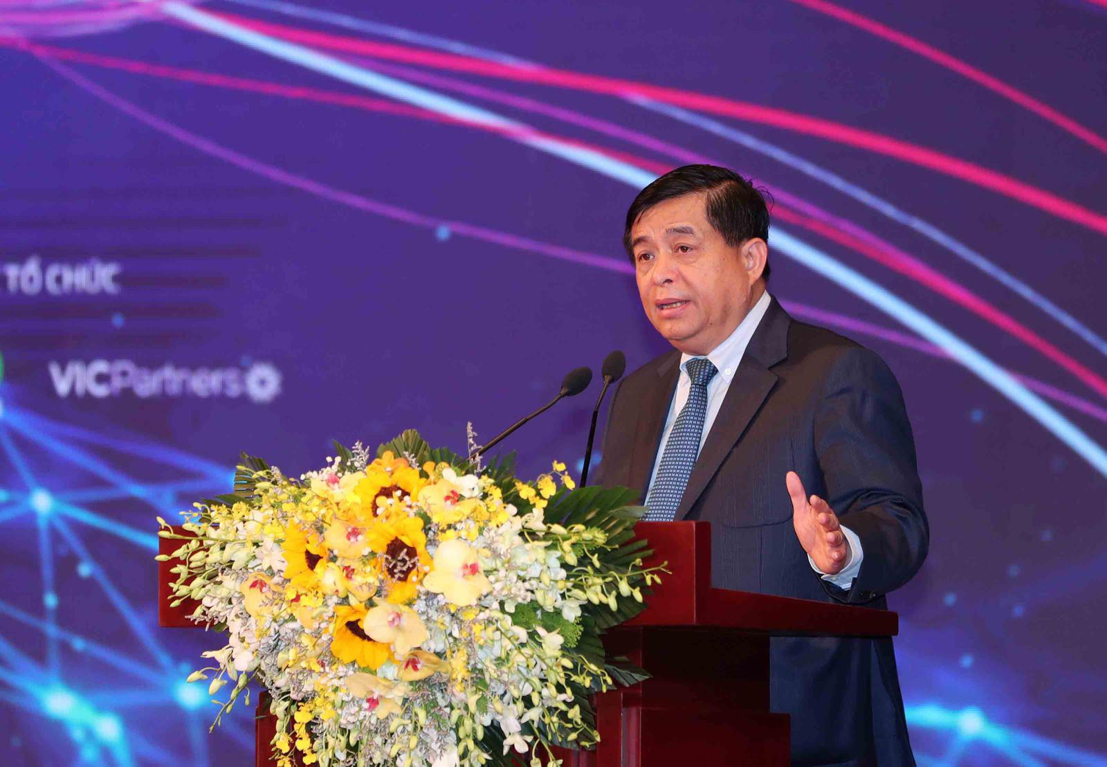 Bộ trưởng Nguyễn Chí Dũng: Đưa hàng tỷ USD vào khởi nghiệp sáng tạo - Ảnh 1.