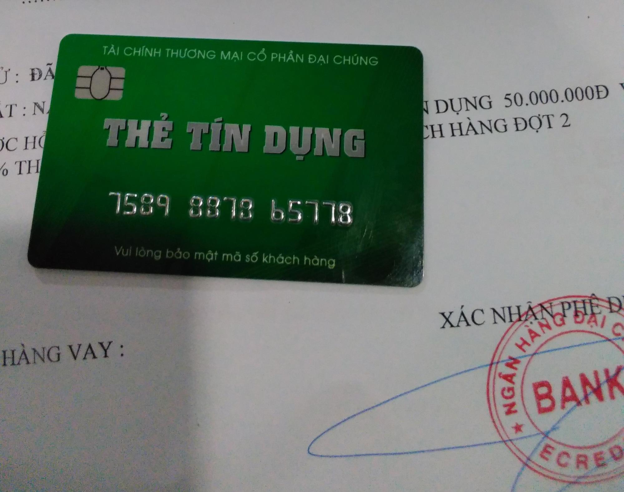 Thêm ngân hàng cảnh báo thủ đoạn lừa đảo mở thẻ tín dụng giả - Ảnh 1.