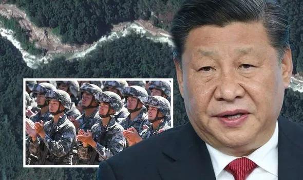 Ảnh vệ tinh phát hiện con đường bí mật Trung Quốc không muốn Ấn Độ biết - Ảnh 1.