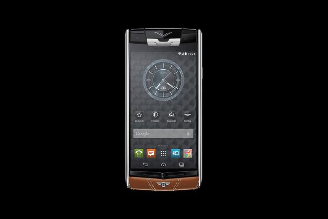 Trên tay điện thoại Vertu dành cho Bentley, giá bán choáng váng - Ảnh 5.