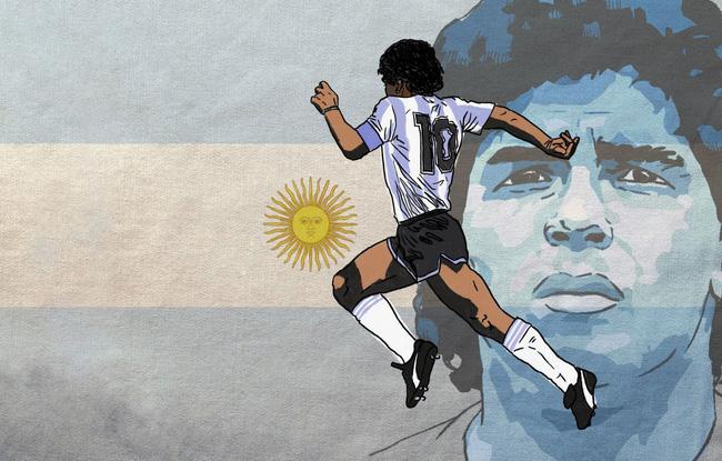 Diego Maradona từng nói về dòng chữ sẽ khắc trên bia mộ của mình - Ảnh 1.