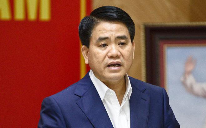 Truy tố ông Nguyễn Đức Chung ra Tòa án TP.Hà Nội để xét xử - Ảnh 1.