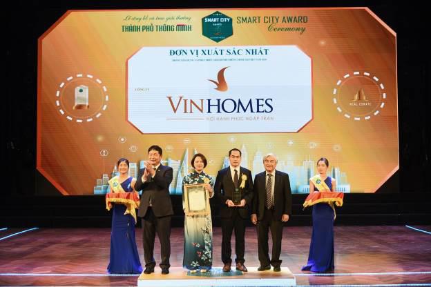 """Vinhomes Ocean Park đạt giải thưởng danh giá nhất của """"Thành phố thông minh 2020"""" - Ảnh 1."""
