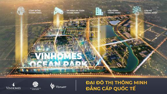 """Vinhomes Ocean Park đạt giải thưởng danh giá nhất của """"Thành phố thông minh 2020"""" - Ảnh 2."""