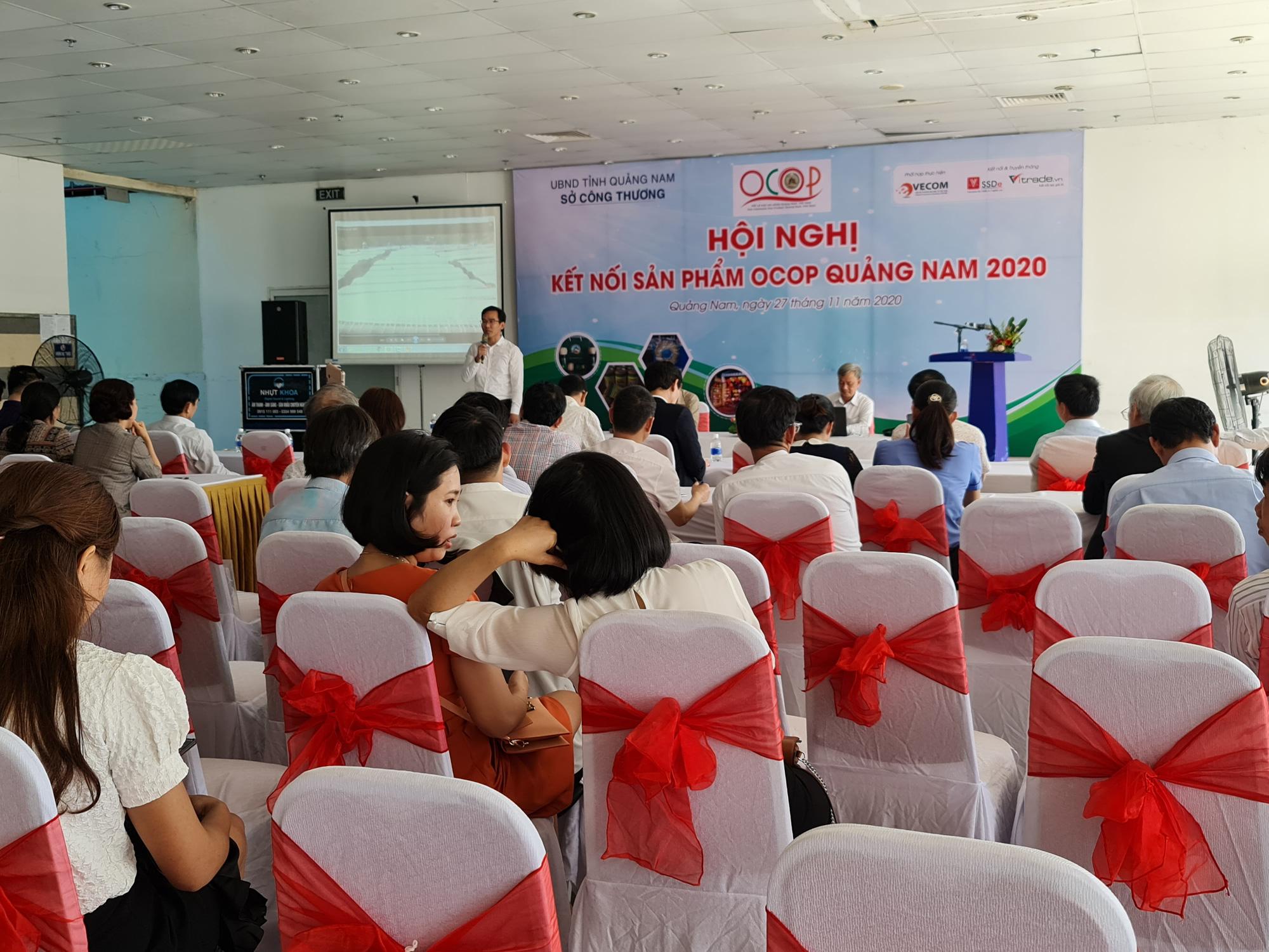 Quảng Nam: Đưa sản phẩm nhà nông gắn sao bay xa thị trường toàn quốc - Ảnh 1.