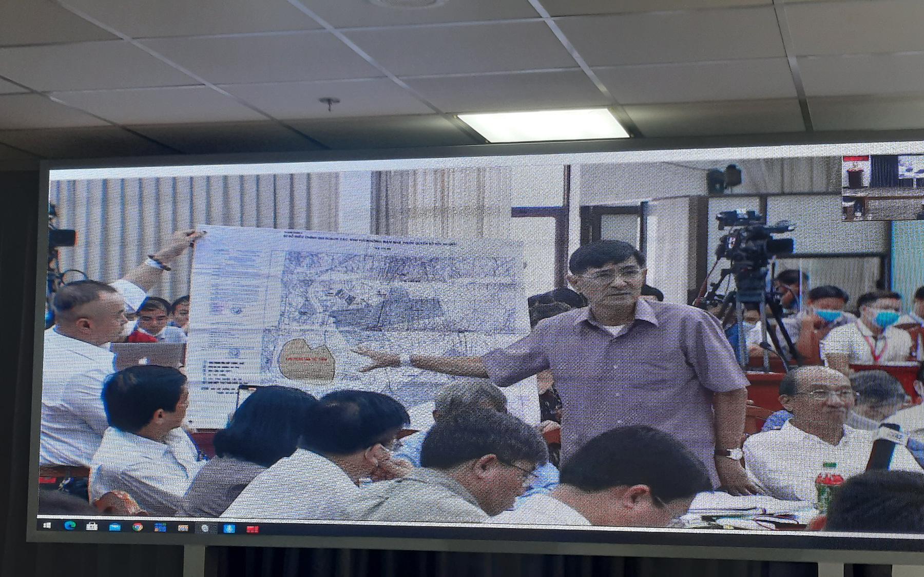 Bằng chứng thể hiện nhà, đất tại 5 khu phố thuộc 3 phường nằm ngoài ranh Khu đô thị mới Thủ Thiêm