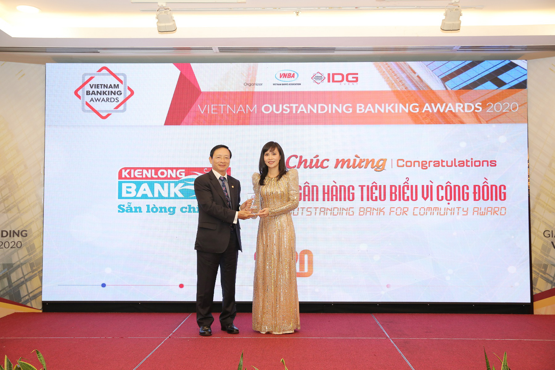 """Kienlongbank lần đầu tiên được vinh danh """"Ngân hàng tiêu biểu vì cộng đồng"""" - Ảnh 2."""
