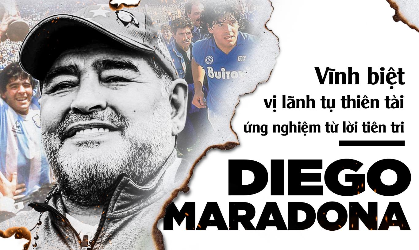 Diego Maradona: Vĩnh biệt vị lãnh tụ thiên tài ứng nghiệm từ lời tiên tri - Ảnh 1.