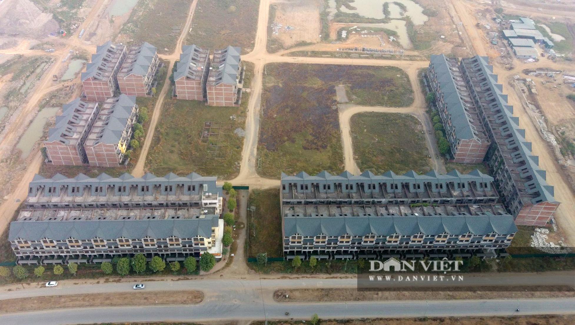 Cận cảnh dự án Kim Chung – Di Trạch ồ ạt rao bán khi nợ thuế, chưa xong hạ tầng - Ảnh 2.