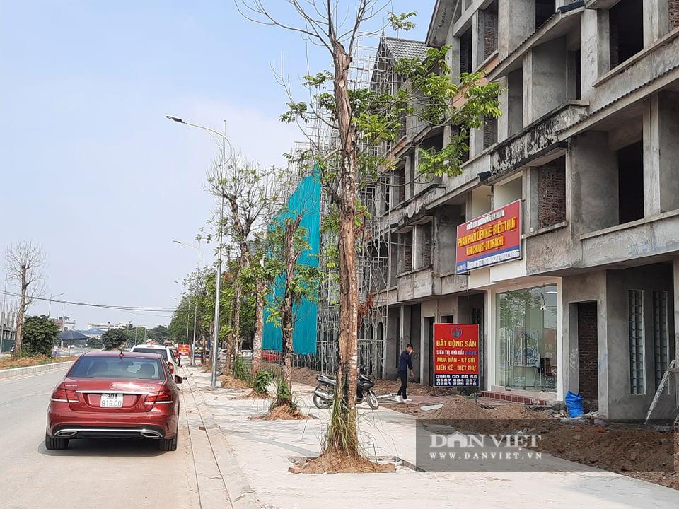 Cận cảnh dự án Kim Chung – Di Trạch ồ ạt rao bán khi nợ thuế, chưa xong hạ tầng - Ảnh 14.