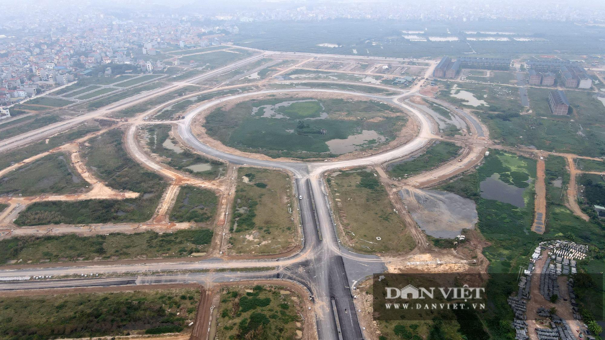 Cận cảnh dự án Kim Chung – Di Trạch ồ ạt rao bán khi nợ thuế, chưa xong hạ tầng - Ảnh 1.