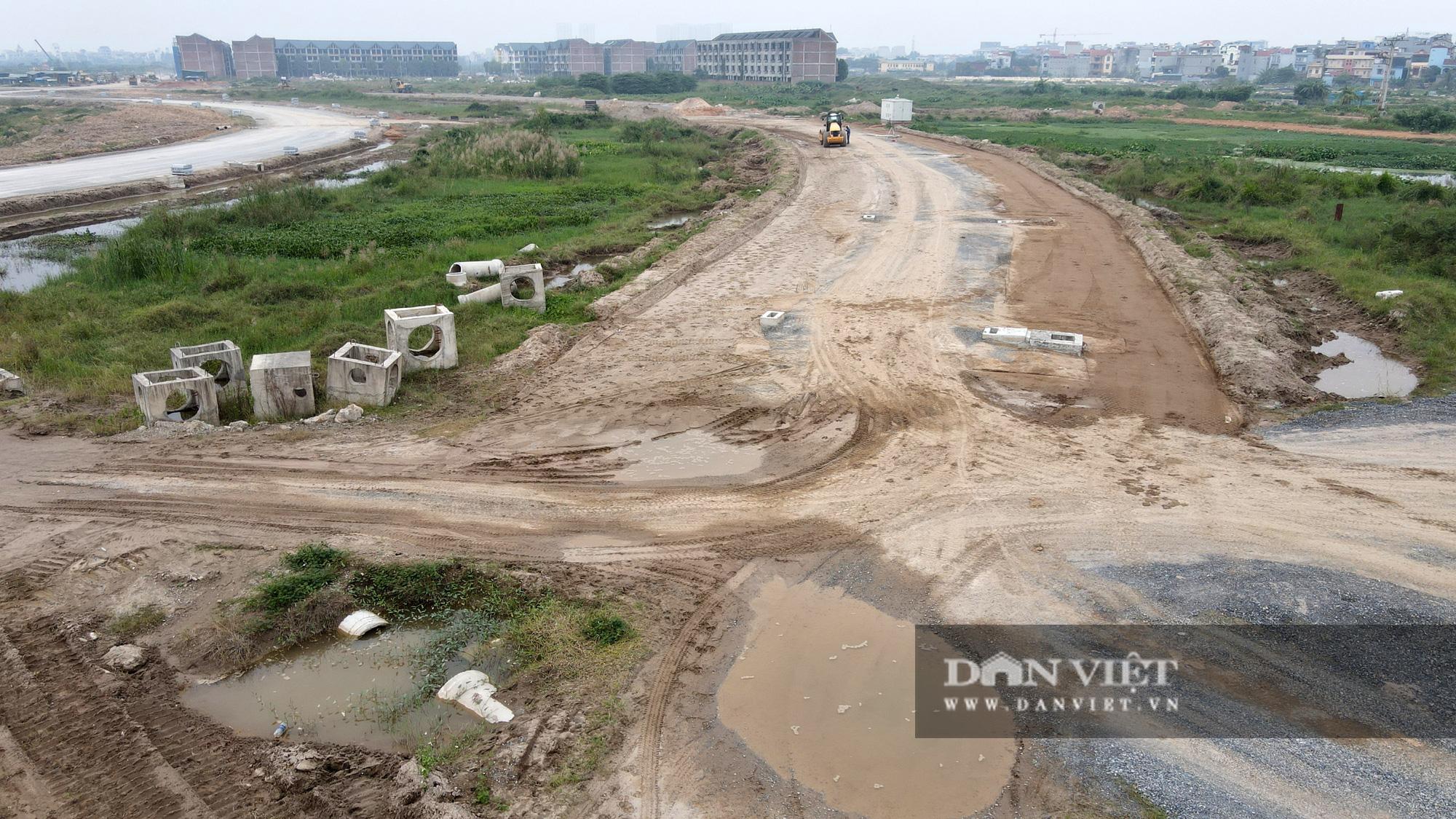 Cận cảnh dự án Kim Chung – Di Trạch ồ ạt rao bán khi nợ thuế, chưa xong hạ tầng - Ảnh 3.