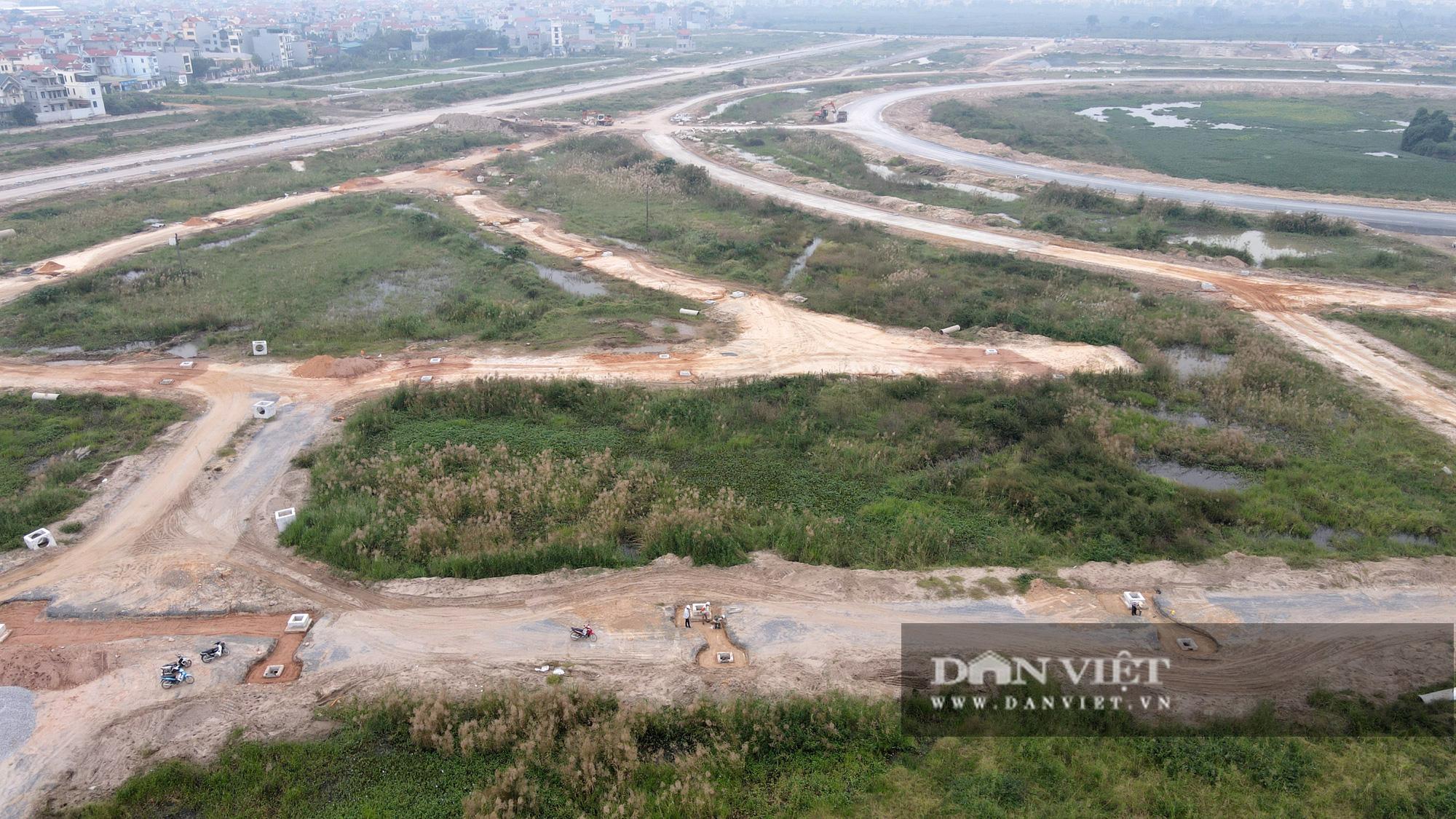 Cận cảnh dự án Kim Chung – Di Trạch ồ ạt rao bán khi nợ thuế, chưa xong hạ tầng - Ảnh 6.
