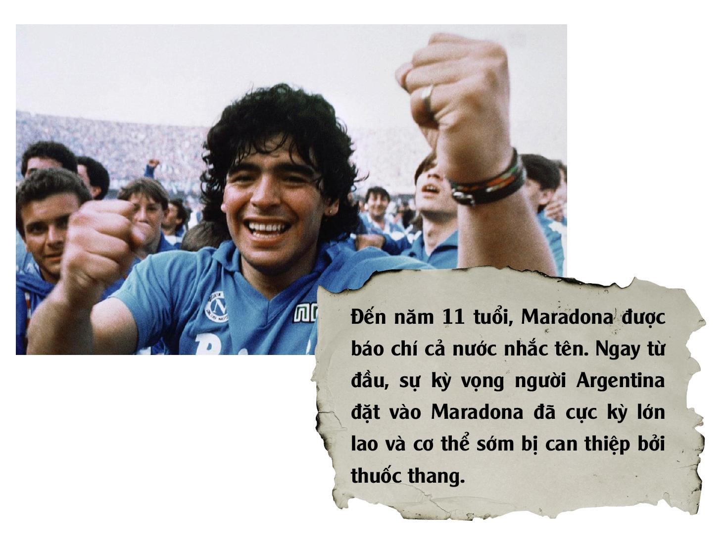 Diego Maradona: Vĩnh biệt vị lãnh tụ thiên tài ứng nghiệm từ lời tiên tri - Ảnh 9.