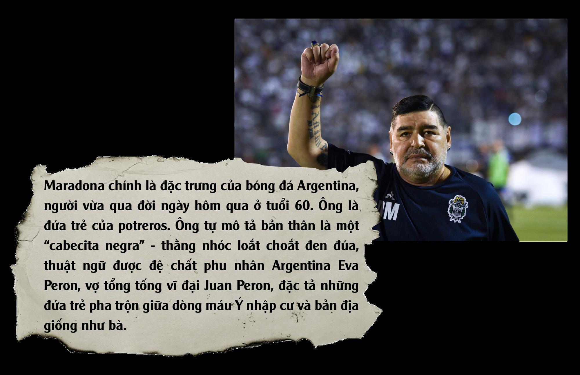 Diego Maradona: Vĩnh biệt vị lãnh tụ thiên tài ứng nghiệm từ lời tiên tri - Ảnh 5.
