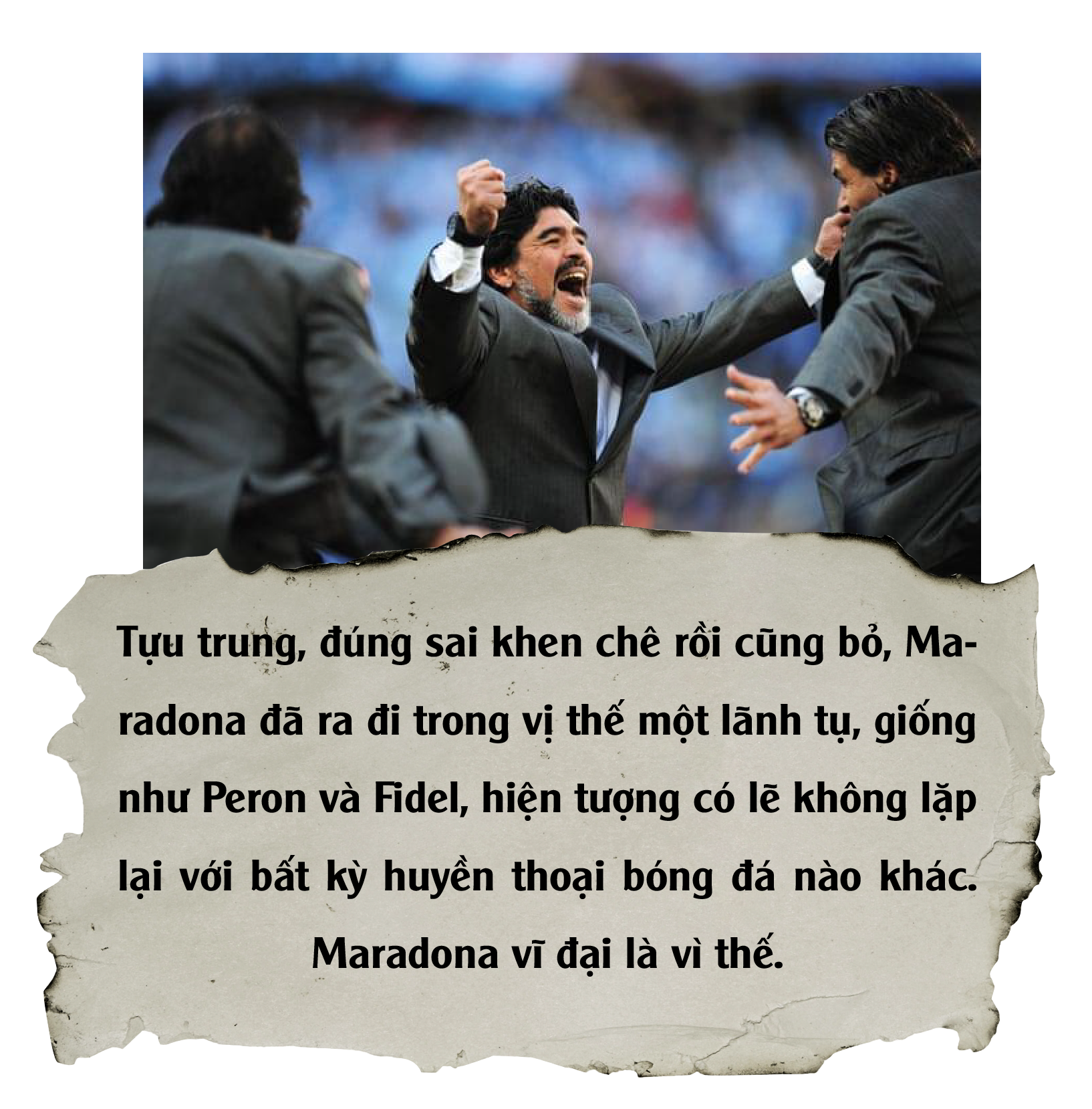 Diego Maradona: Vĩnh biệt vị lãnh tụ thiên tài ứng nghiệm từ lời tiên tri - Ảnh 18.