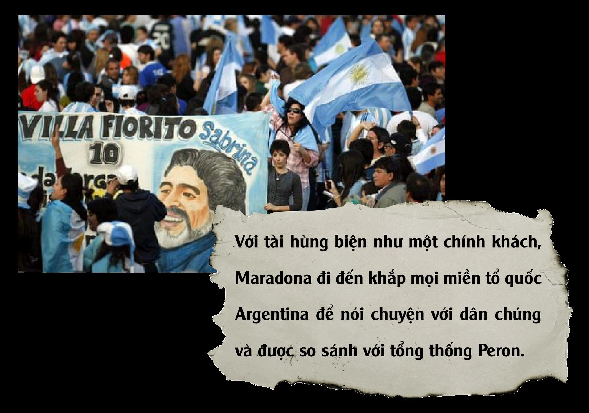 Diego Maradona: Vĩnh biệt vị lãnh tụ thiên tài ứng nghiệm từ lời tiên tri - Ảnh 16.