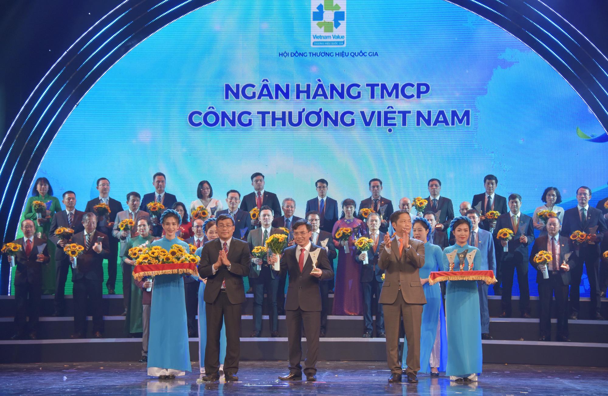 VietinBank lần thứ 6 liên tiếp đạt giải Thương hiệu Quốc gia - Ảnh 1.