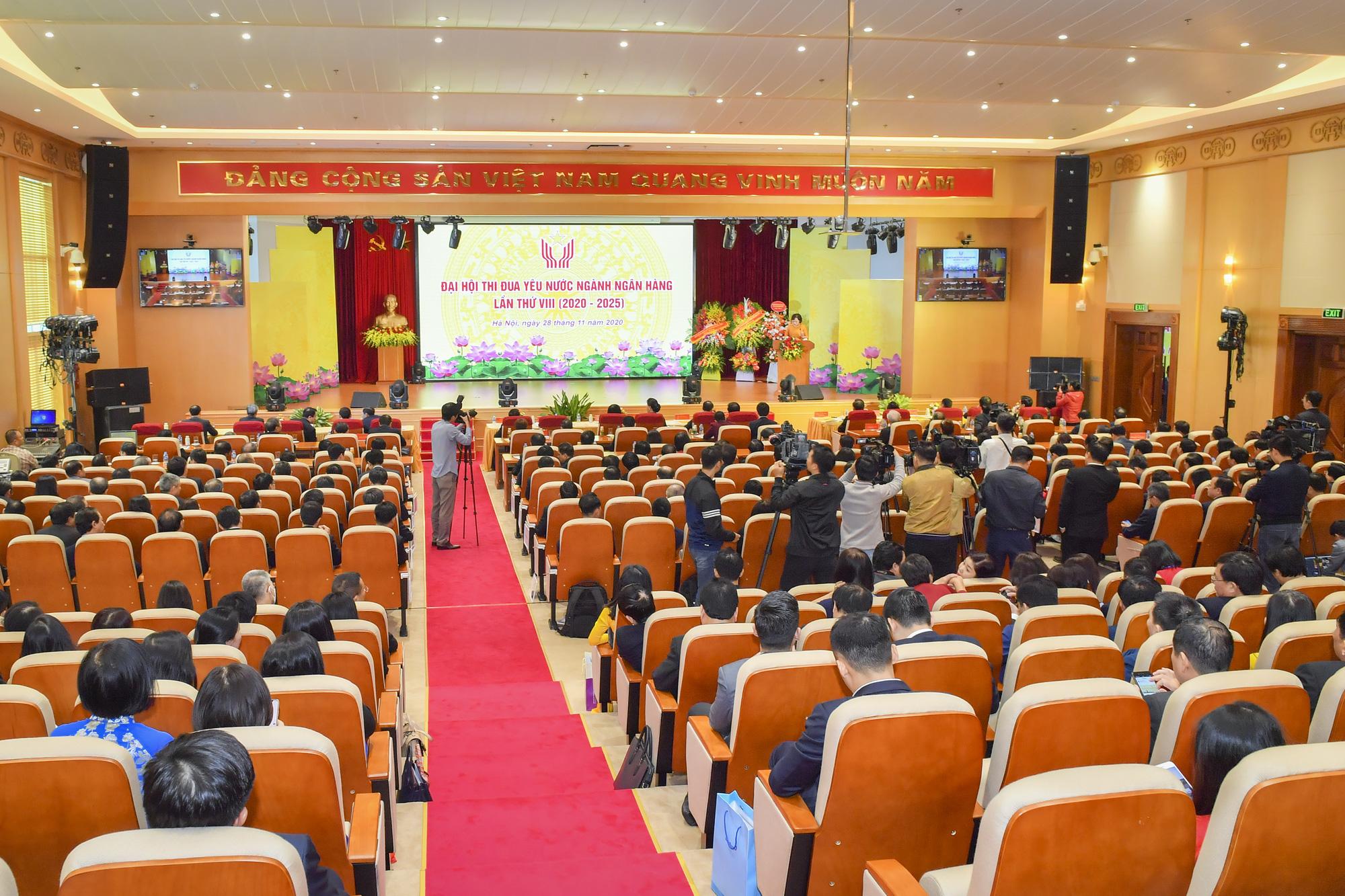 """Chủ tịch Quốc hội Nguyễn Thị Kim Ngân: """"Nhiệm vụ của ngành ngân hàng còn rất nặng nề"""" - Ảnh 1."""