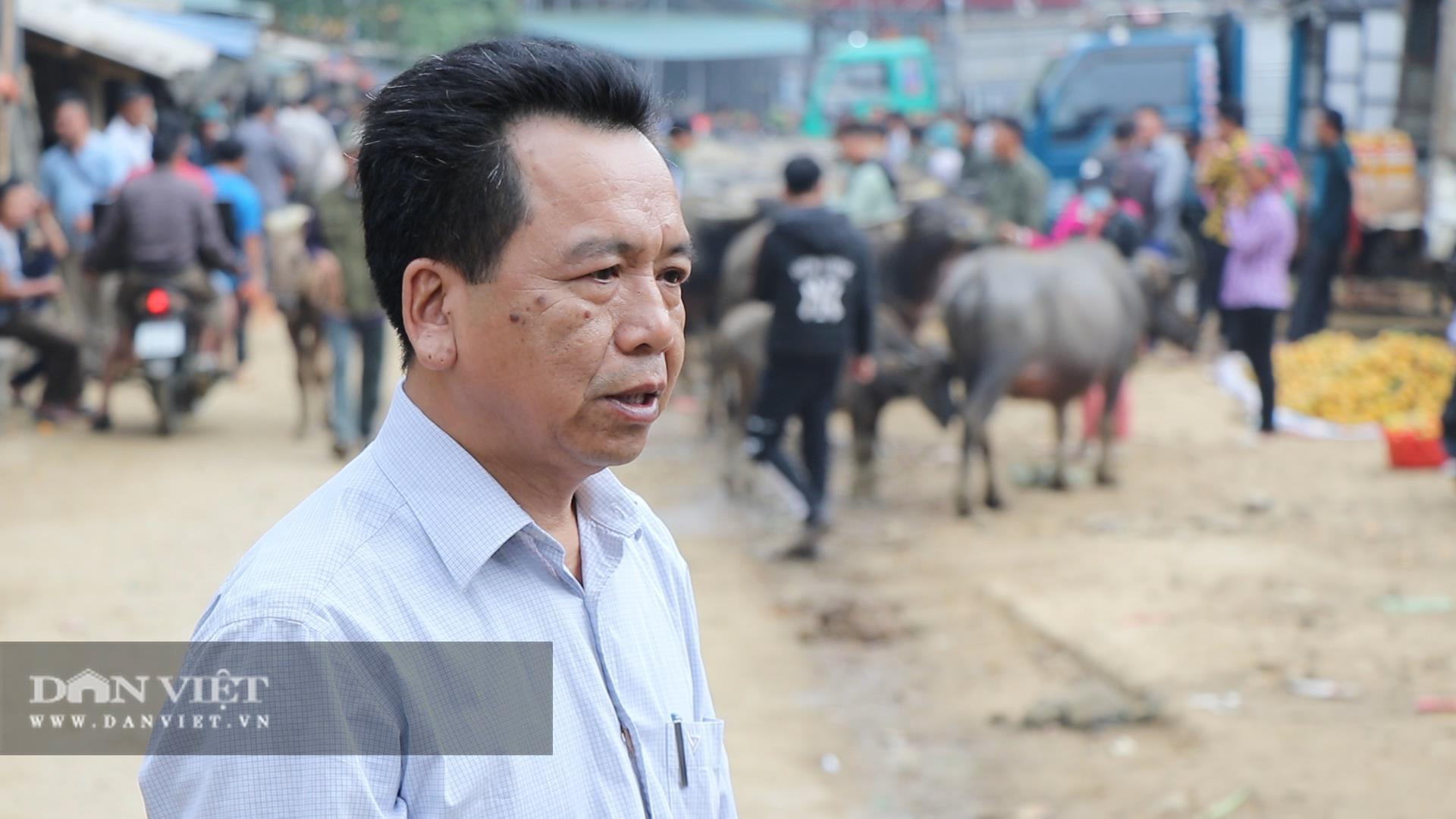 Bắc Kạn khó khăn trong công tác kiểm soát dịch bệnh tại chợ trâu, bò Nghiên Loan - Ảnh 2.