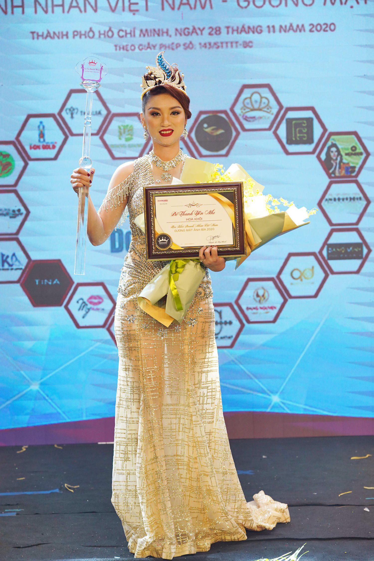 Đỗ Thanh Yến Nhi đăng quang Hoa khôi Doanh nhân Việt Nam – Gương mặt ảnh bìa 2020 - Ảnh 3.