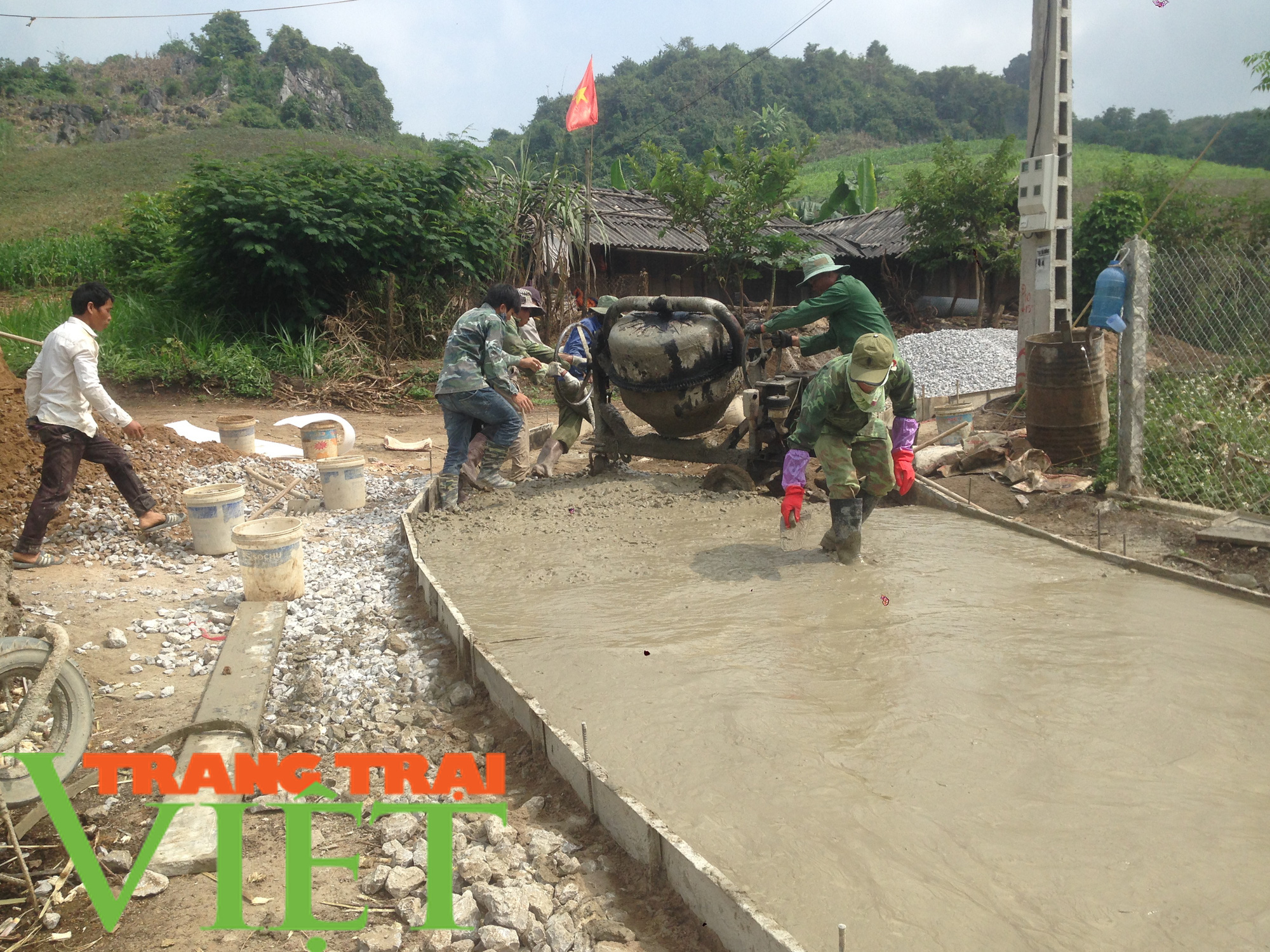 Hội Nông dân Mai Sơn: Huy động hội viên góp công, góp sức xây dựng nông thôn mới - Ảnh 1.