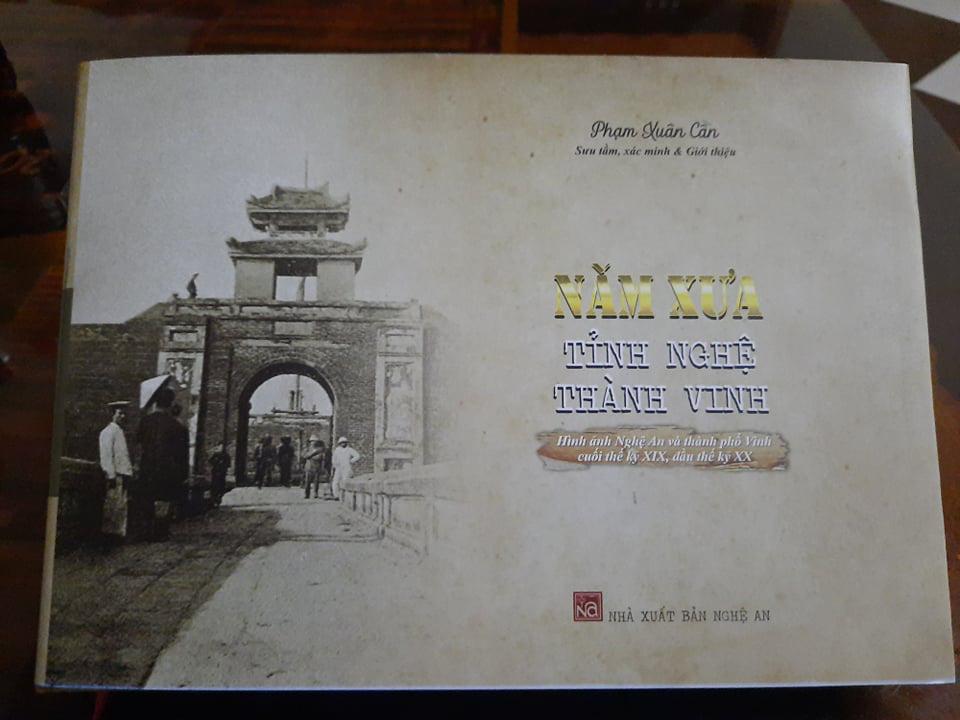 """""""Năm xưa tỉnh Nghệ thành Vinh"""" - nguồn sử liệu quý về Nghệ An - Ảnh 1."""