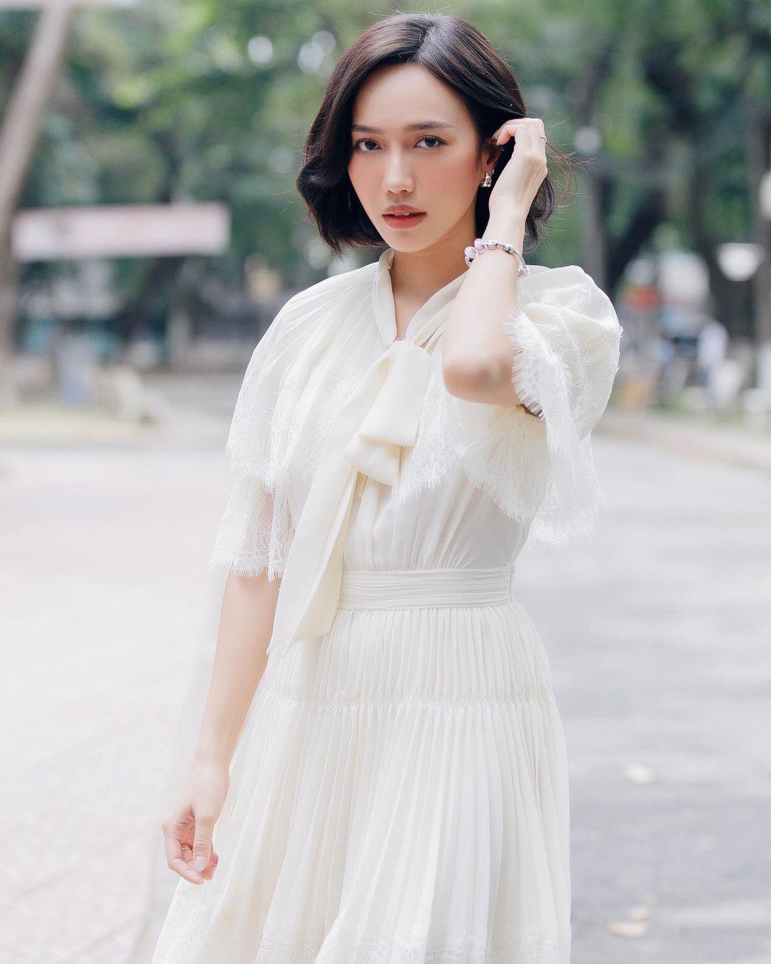 Hoàng Thùy Linh gợi cảm hút mắt, thần thái đỉnh cao trong hậu trường chụp hình thời trang - Ảnh 4.