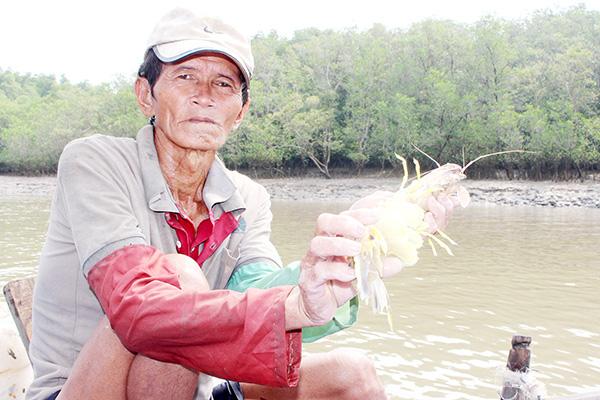 """Nhớ tháng 3 ra sông Đồng Nai bắt sản vật: Loài tôm tít """"nữ hoàng"""" to chà bá, con chem chép vàng như tóp mỡ - Ảnh 1."""