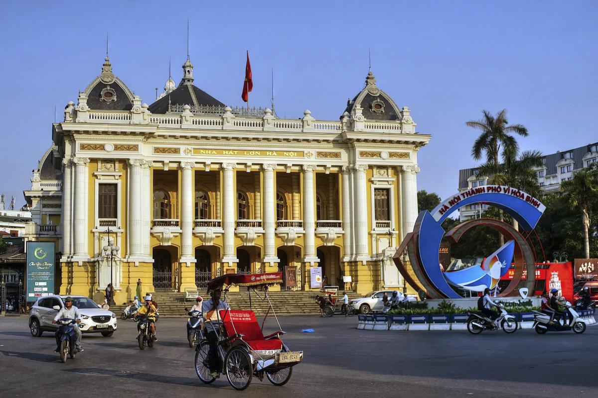 10 công trình kiến trúc Pháp cổ tuyệt đẹp tại Hà Nội - Ảnh 2.