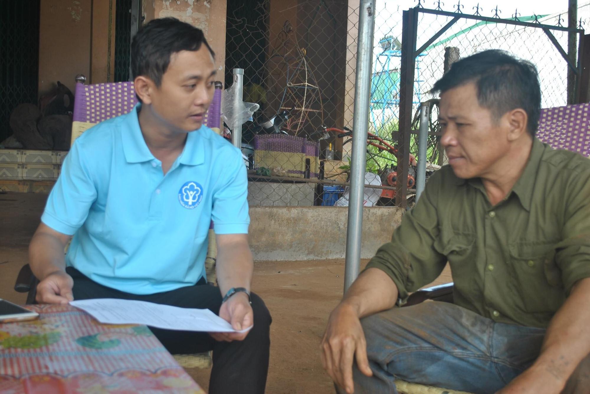Đắk Nông: Tuyên truyền chính sách BHXH tự nguyện tới nông dân - Ảnh 1.