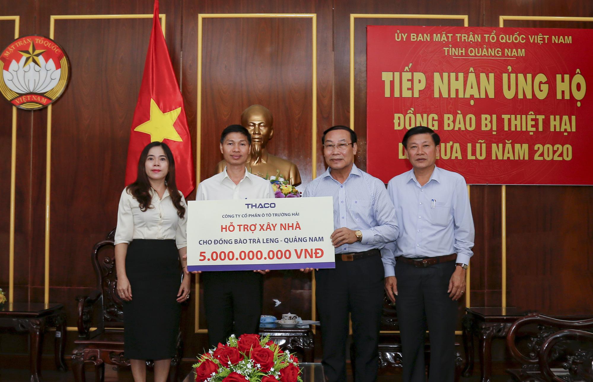 THACO hỗ trợ xây dựng lại ngôi làng cho đồng bào Trà Leng - Quảng Nam - Ảnh 1.