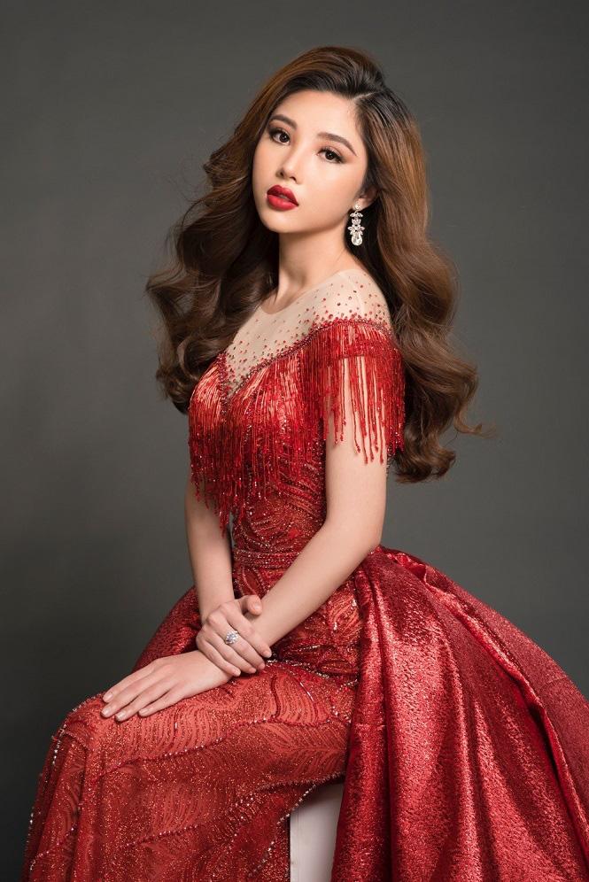 Vẻ gợi cảm của Nguyễn Mỹ Huyền - chân dài bóng chuyền Việt Nam đoạt giải Hoa hậu quốc tế - Ảnh 14.