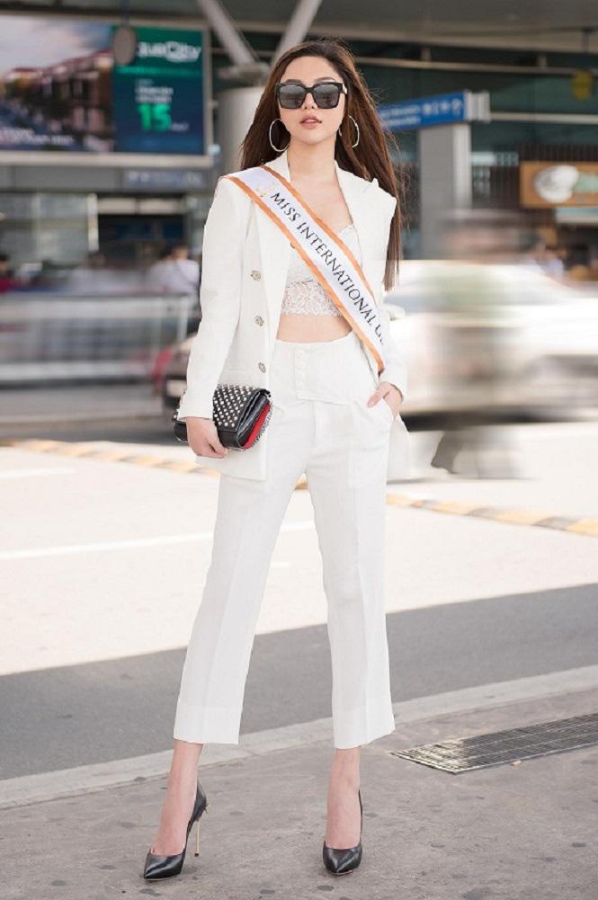 Vẻ gợi cảm của Nguyễn Mỹ Huyền - chân dài bóng chuyền Việt Nam đoạt giải Hoa hậu quốc tế - Ảnh 11.