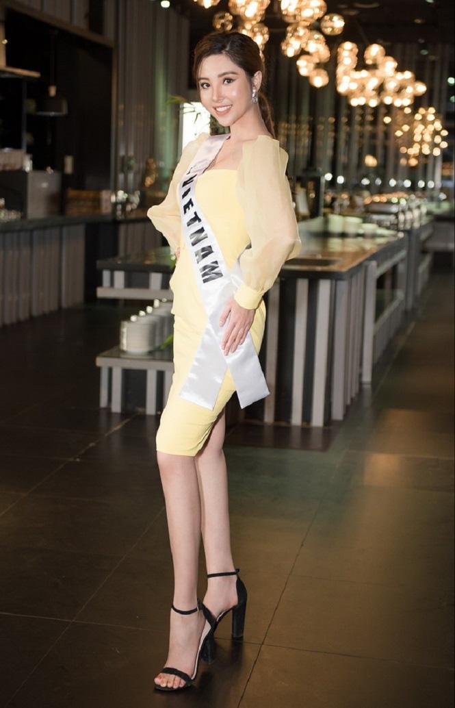 Vẻ gợi cảm của Nguyễn Mỹ Huyền - chân dài bóng chuyền Việt Nam đoạt giải Hoa hậu quốc tế - Ảnh 8.